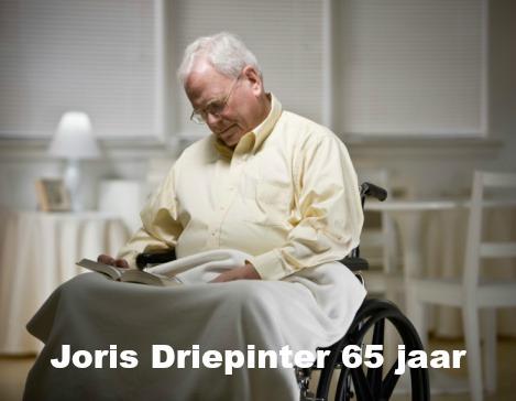 Joris Driepinter heeft zijn heup gebroken en heeft diabetes