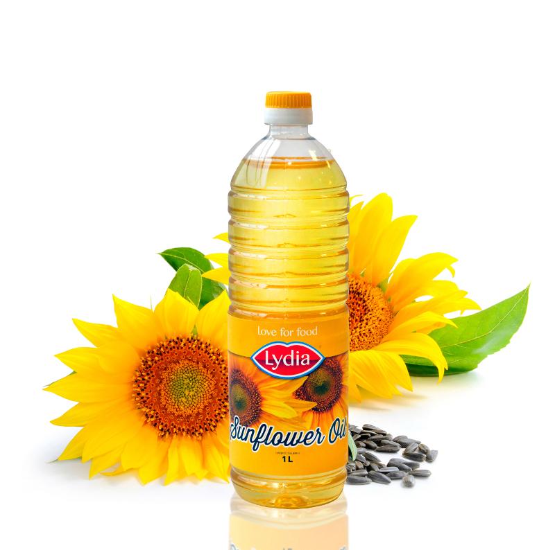 Zonnebloemolie (omega-6 = linolzuur) verhoogt het risico op hart- en vaatziekten